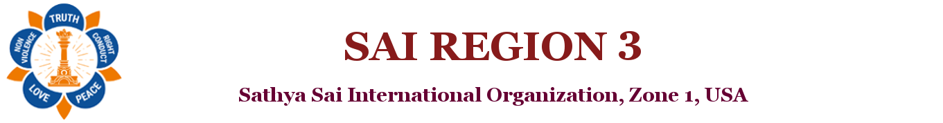 Sathya Sai Baba Organization, Region 3, South East USA